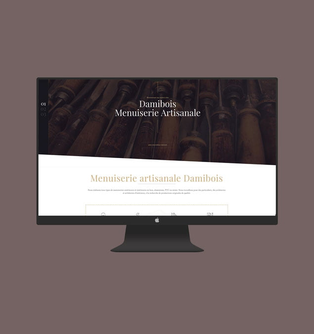 sitewebdamibois-portfolio-studioetika