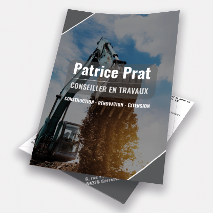 cover flyer patrice prat