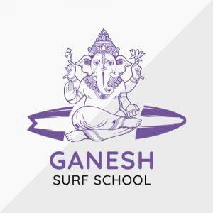 ganesh-surf-school-logo